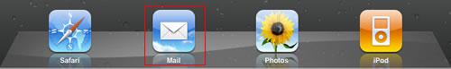 ipad mail app