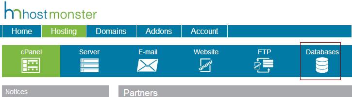 database-on-webhost