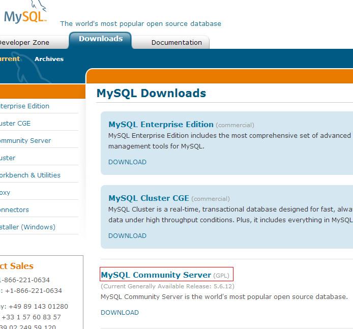 MySQL Community Version