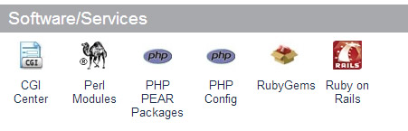 Ruby on Rails in CPanel