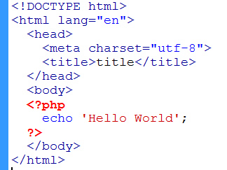 using short versus long form of php open close tags learn web
