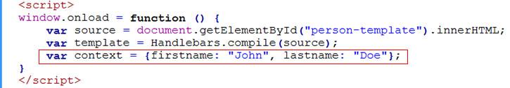 set data context