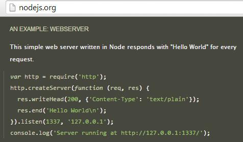webserver example