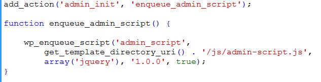 admin_init hook