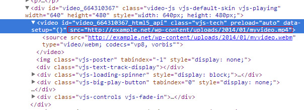 why html5 video not playing in chrome