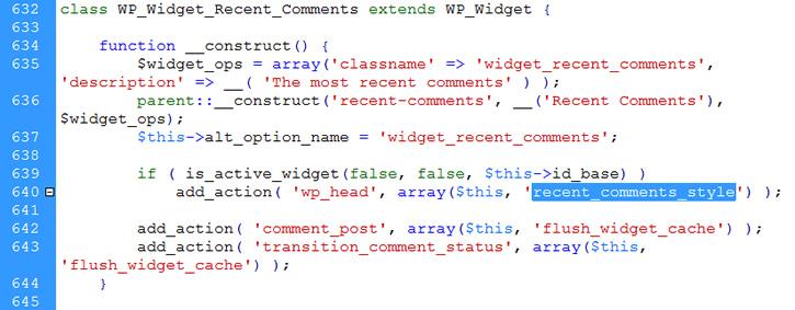 widget contructor