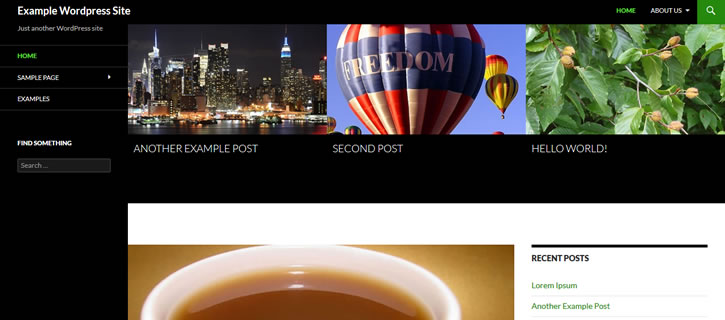 featured posts in grid view