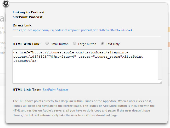 How to Launch iTunes from a link | Learn Web Tutorials