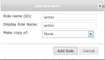 new custom role writer