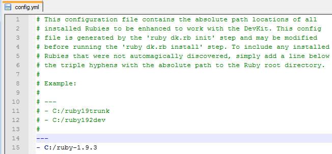 devkit config file
