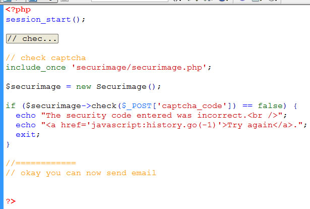 Adding captcha on PHP forms | Learn Web Tutorials