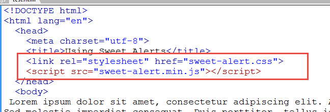 Updating Javascript Alerts to SweetAlert   Learn Web Tutorials