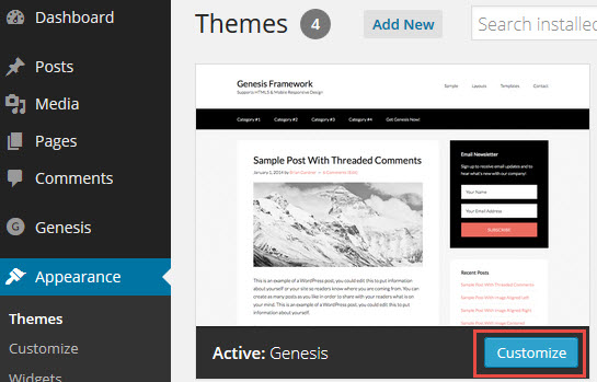 wordpress genesis framework tutorial pdf