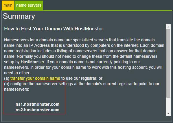 name servers