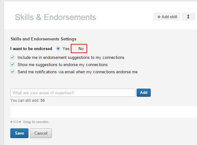no endorsements
