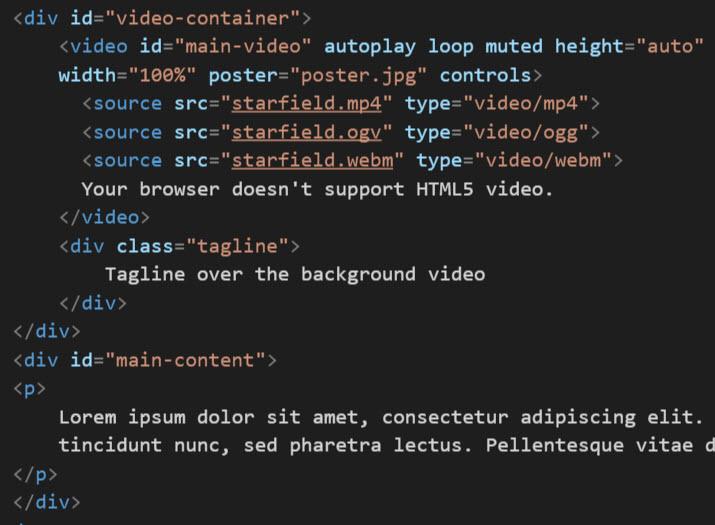 full-html