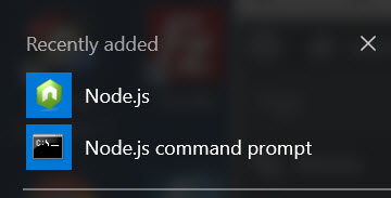 node apps