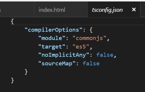 typescript configuration file