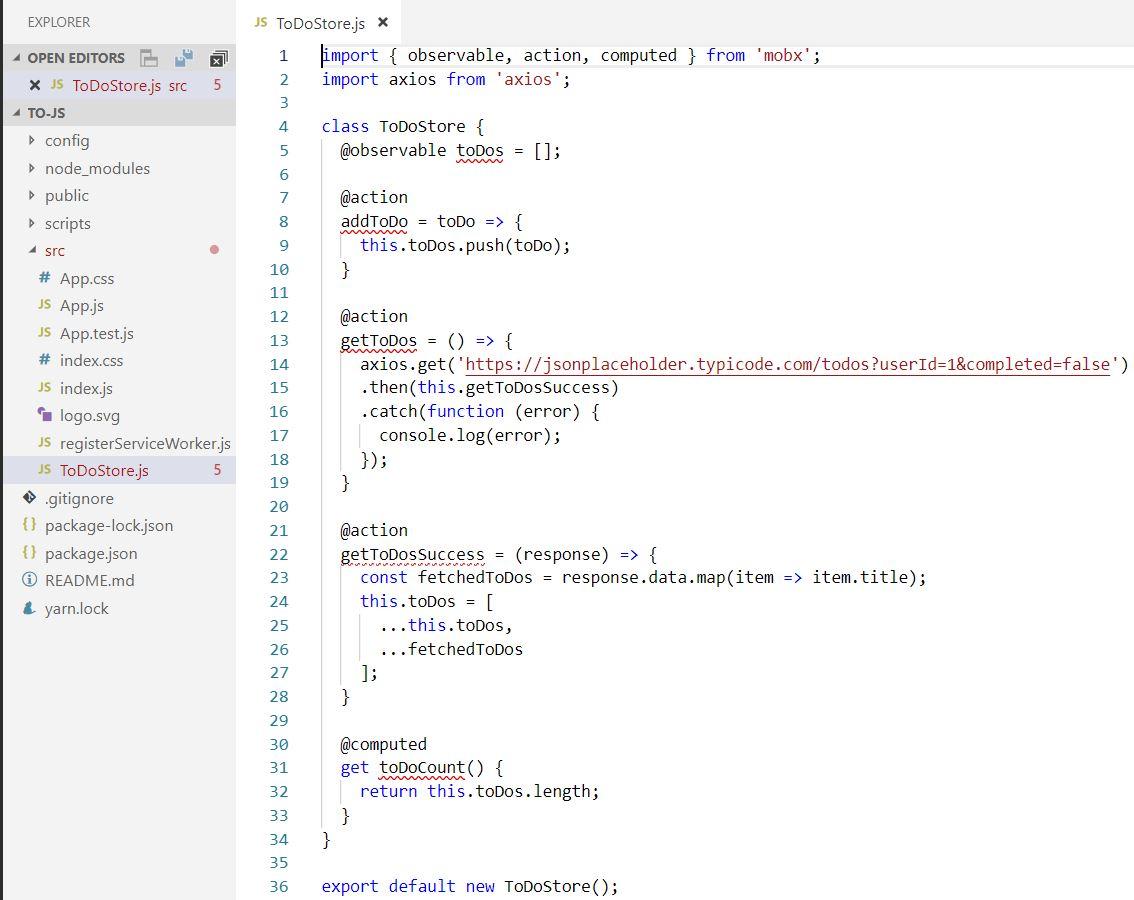 Tutorial on MobX toJS method   Learn Web Tutorials