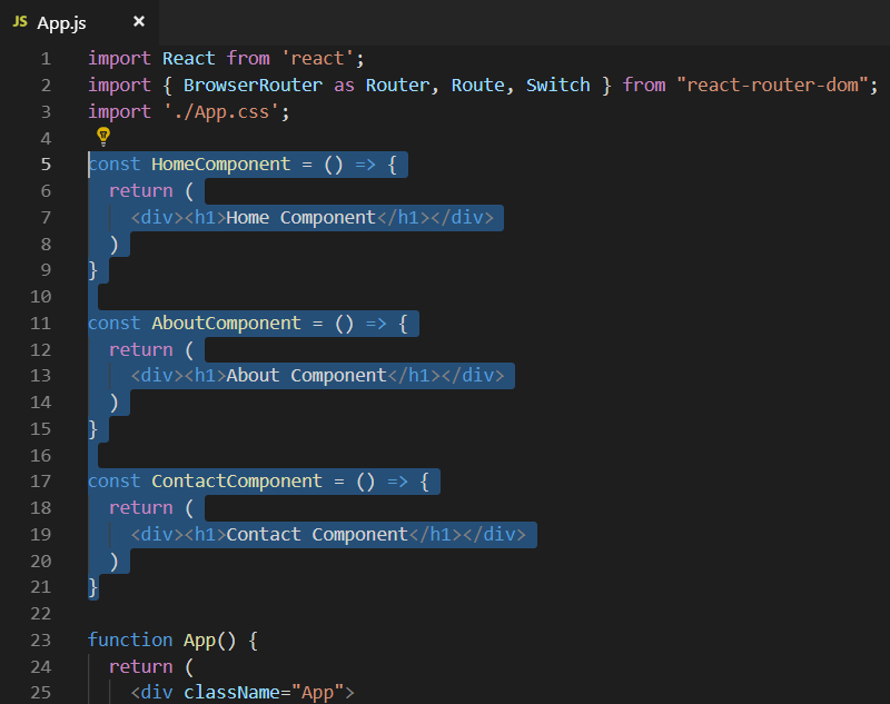 Tutorial on React Router 5 | Learn Web Tutorials